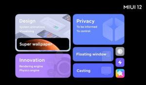 Xiaomi miui12 features