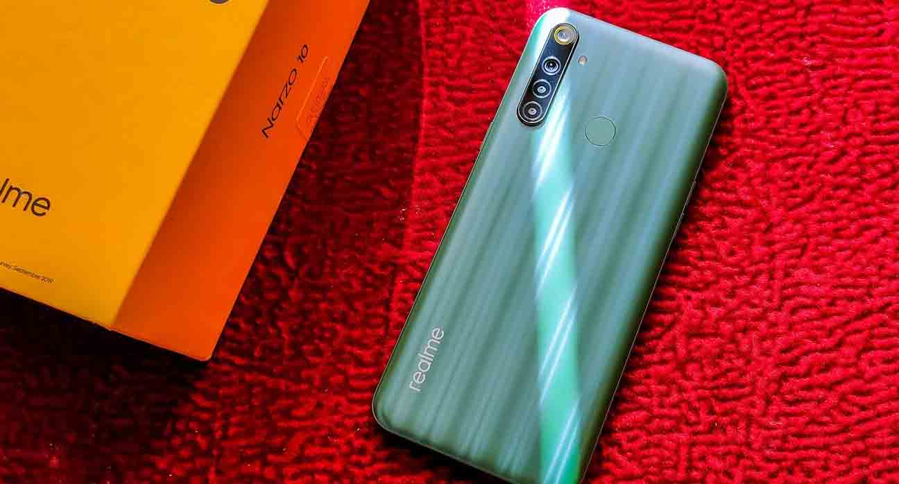 Narzo 10 specifications