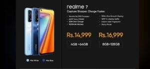 Realme 7 price in india