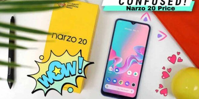 Narzo 20 Mobile Price In Bangladesh