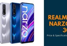 Photo of Realme Narzo 30 Price & Specifications | TECHOFLIX