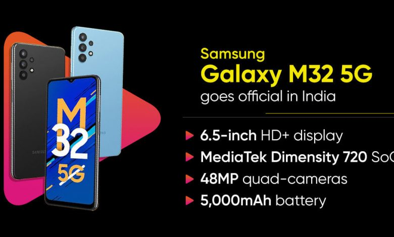 Photo of Samsung Galaxy M32 5G Price In India, Specs, Reviews   TECHOFLIX